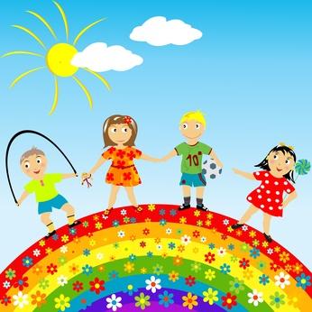 ילדים מאושרים